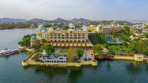 The Leela Palace Hotel in Udaipur, India