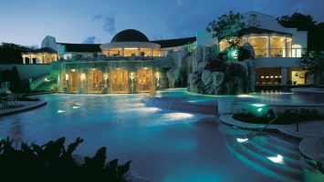 The Sandy Lane Hotel in St. James, Barbados